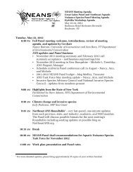 Tuesday, May 22, 2012 8:30 PM Full Panel meeting - Northeast ...