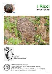 I Ricci - Società Protezione Animali di Bellinzona