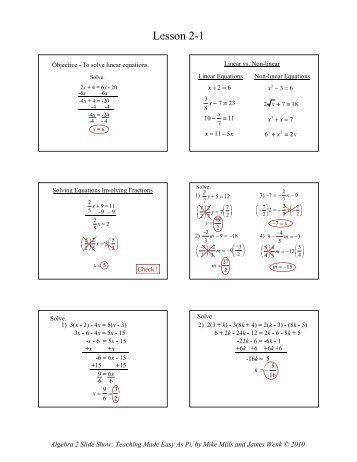 9 4a solving quadratic equations by graphing math slide show