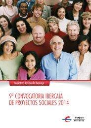 Proyectos sociales Ibercaja - Novacaixagalicia Obra Social