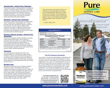 AdrenalEssence™ - Pure Essence Labs