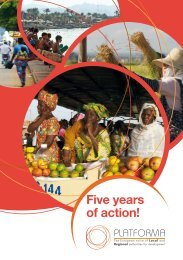 Five years of action! - Council of European Municipalities and Regions