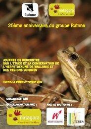 Invitation Journée Rainne - Natagora