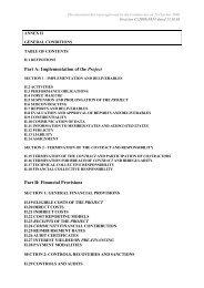 Annex II - GENERAL CONDITIONS - ENEN Association