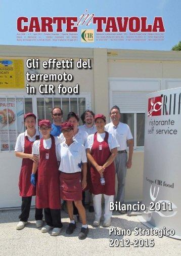 n. 3 - luglio 2012 - CIR Food