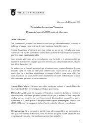 Discours de Laurent Lafon prononcé à l'occasion de la cérémonie ...