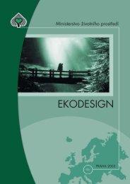 EKODESIGN - CENIA, česká informační agentura životního prostředí