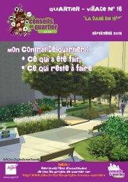Journal du Quartier-village 16 - Ville d'Agen