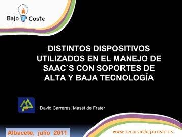 Tableros de comunicación - CRMF Albacete