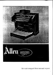 the most compact three manual organs - The Organ Forum
