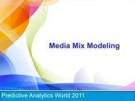 analytics2011 - Predictive Analytics World