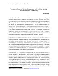 Towards a Theory of the Intellectuals and their Political Ideology in ...