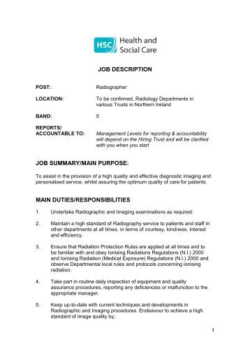 Job Descriptions and Careers Career and Job Opportunities