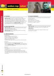 weber.rep cebar - BPG Bouwhof Groothandel