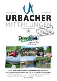 RemsTotal - 19 Kommunen an der Rems feiern gemeinsam