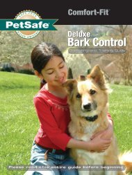 Deluxe Comfort Fit Bark Collar - RadioFence.com
