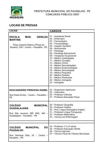 LOCAIS DE PROVAS - asperhs