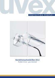 Korrektionsschutzbrillen 2012