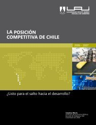 LA POSICIÓN COMPETITIVA DE CHILE - Universidad Adolfo Ibañez