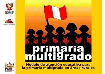 Modelo de atención educativa para la primaria multigrado en áreas ...