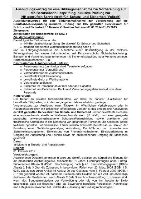 Download Mustervertrag Servicekraft Fć¼r Schutz Und Sicherheit