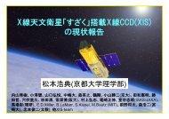 X線天文衛星「すざく」搭載X線CCD(XIS) の現状報告