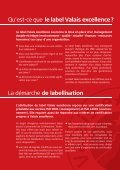 Le label Valais excellence - Page 3