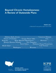 Beyond chronic Homelessness: a review of Statewide Plans