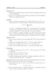 Alg`ebre 2 – TD6 2010-2011 Exercice no 9 1. Soit K un corps ...