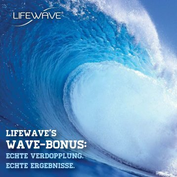 Wave Bonus Brochure-DE - LifeWave