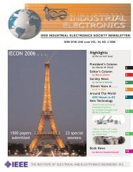 for Non-Members - IEEE Home Page IEEE Industrial Electronics ...