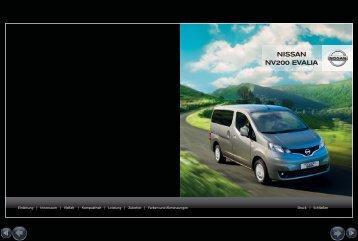 Broschüre & Preisliste - Nissan Slanitsch