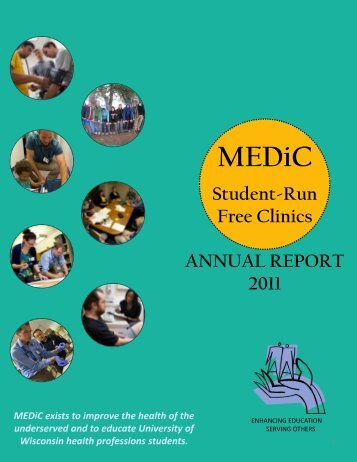 Student-Run Free Clinics ANNUAL REPORT 2011 - University of ...