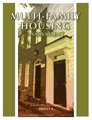 MULTI-FAMILY HOUSING - Charlotte-Mecklenburg County