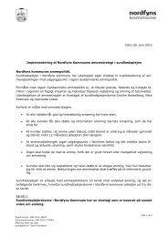 Implementering af Nordfyns Kommunes ammestrategi i ...