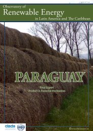paraguay - Observatory for Renewable Energy in Latin America and