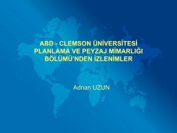 Sunum 2 - Orman Fakültesi