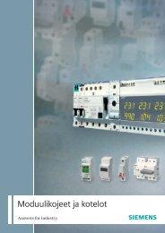 Moduulikojeet ja kotelot - Siemens