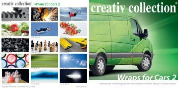 Wraps for Cars 2 - ccvision