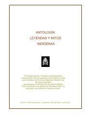 ANTOLOGÍA LEYENDAS Y MITOS INDÍGENAS - Folklore Tradiciones