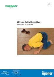Wirsbo-lattialämmitys - Rakentaja.fi