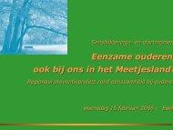 Algemene presentatie - Meetjesland.be