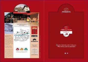 Télécharger la brochure de l'hôtel - Best Mont Blanc