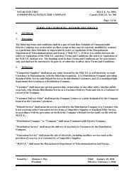 NSTAR ELECTRIC M.D.T.E. No. 300A COMMONWEALTH ...