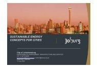 City of Johannesburg by Peter Coetzee - EnerKey
