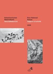 Geschäftsbericht 2009 - Schweizerischer Nationalpark