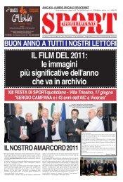 IL FILM DEL 2011: le immagini più significative ... - SPORTquotidiano