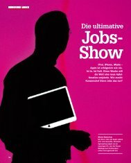 Die ultimative Jobs- Show - Markus Giesler