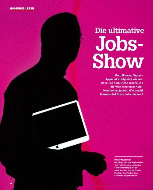 Die ultimative Jobs- Show - Markus Giesler