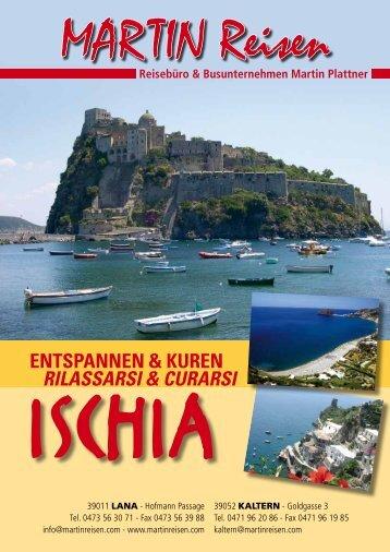 Ischia. - MARTIN | Reisebüro und Busunternehmen